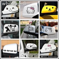 Car Stickers Reflective Mirror Stickers Rearview Mirror Stickers