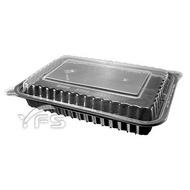 8366方型餐盒(650ml)-PP蓋 (年菜盒/肋排/肉/熱炒/海鮮/油飯/塑膠餐盒/免洗餐盒)【裕發興包裝】JY004