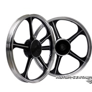 SUZUKI RG RGV GTO SPORT RIM SET SIAP BEARING & BUSH (BLACK)
