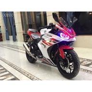 國四電噴小忍者摩托車二手跑車川崎250-350c地平線重機車雙缸水冷