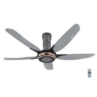 """KDK Remote Control Ceiling Fan 5 Blade 5 Speed V Touch - Copper Brown 60"""" K15Y2"""