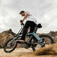 basikal lipat folding bike ✧FIIDO Flying Road D11 Folding Electric Bicycle Removable Lithium Battery Electric Assist Bic