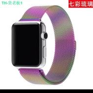 สายเปลี่ยนนาฬิกาข้อมือ AppleWatch Band Milanese Loop Series 1 2 3 4 5 6 44 มม 40 มม 38 มม 42 มม สาย applewatch 6 se 4.7 men