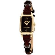 COACH【美國代購】女錶Ludlow系列石英金色錶盤14502962