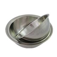 不鏽鋼調理打蛋盆三件組(20+22+24cm)