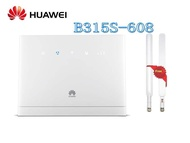 unlocked Huawei B315s-608 4G LTE WLAN Router 4G 150Mbit LTE, HSPA 32 User 4-Port with 2pcs B315 antenna