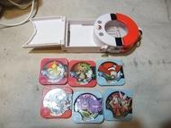 二手 神奇寶貝Pokemon Tretta卡匣隨身收納盒 可收納6枚卡匣公司貨