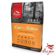 【Orijen 渴望】成幼貓野牧鮮雞鮮魚無穀天然糧 5.45公斤 X1 包