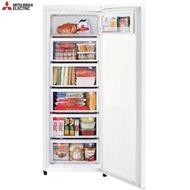 【MITSUBISHI 三菱】144L 泰製直立式冷凍櫃 純淨白 搭贈時尚不鏽鋼調味罐組(MF-U14P-W-C)