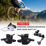 【JH】LTWOO 1 Set 9-Speed Rear Dial+Front Dial+Visible Finger Dial A5 3x9 27 Speed Derailleurs Groupset 9s Shifter Lever Front Derailleur 9 Speed Rear Switches Suit Alivio M4000 Deore M590 Back Dial