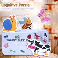 Children puzzle toys wooden toys wooden toy box wooden puzzle toys household toys