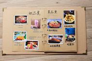 菜單本diy手寫創意活頁自製家庭個性菜單貼紙手繪甜品菜單餐廳用