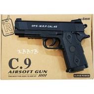 Bank Ts ปืนอัดลม ปืนอัดลมเหล็ก แบบเหล็ก ลำกล้อง 5 นิ้ว ชักยิงทีละนัด แถมกระสุน 400 นัด C.9