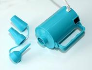 火箭筒強力電動充氣幫浦 快速充飽充氣床 Tiffany 藍 BC0029