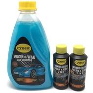 【BUNDLE DEAL】Cyber Wash & Wax Car Shampoo+ 2 X Cyber Windscreen Clean & Coat 2in1Shampoo