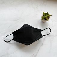 STYLEi KF94 Air Fresh 橋型立體防護口罩 黑旋風-素色系列 不脫妝首選-成人款(20入/袋)