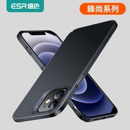 【ESR 億色】iPhone12/12 Pro/12mini/12 Pro Max手機殼 超輕薄磨砂裸機手感保護殼 鋒尚系列(IPHONE12)