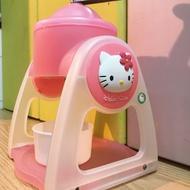 全新!絕版!hello kitty 手搖式刨冰機