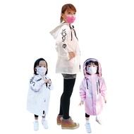 高機能防護衣/防護外套 (兒童款) #86白