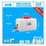 加厚大號塑料臥式水桶蓄水塔大容量儲水箱噸桶200L升0.5/1/2/3噸