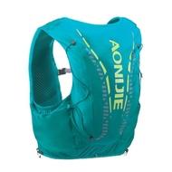 【AONIJIE】單車運動跑步越野貼身背包 12L 水袋需另購 薄荷綠
