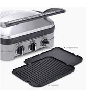 □Cuisinart GR-4NKR Electric Grill Meat Griddler Removable Plates Integrated