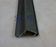 4203 鋁擠型 紗窗料 712型 固定紗門料 鋁料 鋁門窗材料 鋁材 鋁門窗 紗窗 紗門 DIY 五金