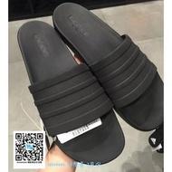 什麼魚 adidas Adilette CF+ Slides 黑 全黑 拖鞋 黑武士 S82137 海灘拖
