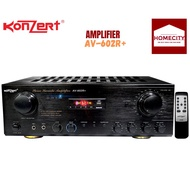 KONZERT AMPLIFIER AV-602R+