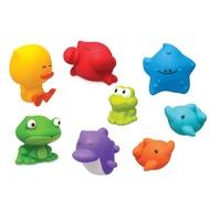 美國 Infantino 歡樂海底樂園洗澡玩具組