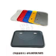 《YA重機零件》SYM  Mio115 WOO115 Mii11專用 鋁合金 機車 車牌 改裝 車牌框 新式 7碼 牌框