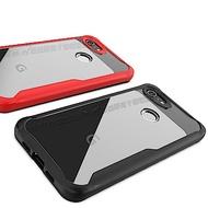 簡約工業風 Google Pixel 3a 清透防摔手機殼 高透光保護殼