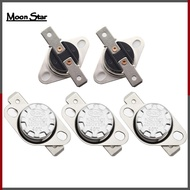 5 Pcs KSD301 Thermal Control Switch 250V 10A Normally Closed NC Thermostat Temperature Switch