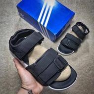อาดิดาส แท้ รองเท้าแตะ ผู้หญิง ผู้ชาย Adidas foss adilette sandal slipper สีดำ ชายหาดรองเท้าแตะ