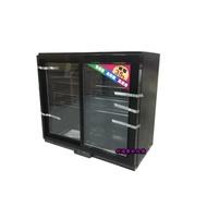 《利通餐飲設備》桌上型滑門冰箱 桌上型展示冰箱