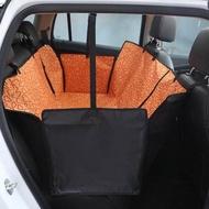 ชุดหุ้มเบาะและอุปกรณ์เสริม ผ้าคลุมเบาะรถยนต์สำหรับสัตว์เลี้ยง ผ้าคลุมเบาะกันเปื้อน(สีส้ม)