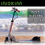 Inokim Quick 1 Electric Scooter 18.2 Ah/Light/Foldable/Electric – chargeable in every socket/Compact