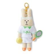 【CRAFTHOLIC 宇宙人】網球選手兔吊飾(運動系列限定款)
