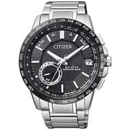 【go錶趣】CITIZEN 星辰(CC3007-55E)GPS光動能男錶 黑/43mm