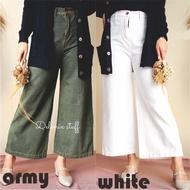 Culottes Jeans For Women Culottes Color Jeans   CELANA KULOT JEANS WANITA KULOT JEANS WARNA