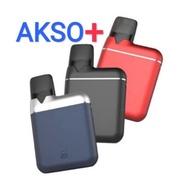 100% ORIGINAL Akso Plus Device Kit Akso Refillable akso Pod and Refilled Flavour Pods l Akso pods l Disposable pod