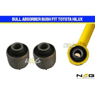 BUL ABSORBER FRONT BUSH BULL 4X4 ADJUSTABLE ABSORBER REPLACEMENT BUSHING FIT TOYOTA HILUX VIGO REVO ROCCO