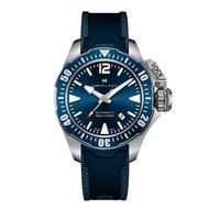 【HAMILTON 漢米爾頓】航海蛙人 FROGMAN腕錶 H77705345(男性 橡膠錶帶 H77705345)