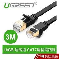 綠聯  3M CAT7網路線  FLAT版  現貨 蝦皮直送