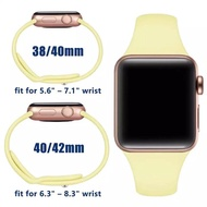 hot READY STOCK* พร้อมส่ง‼️สาย AppleWatch สีมาใหม่ series 6 5 4 3 2 1 สำหรับ applewatch ขนาด  42mm 44mm 38mm 40mm
