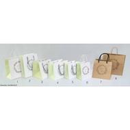 花語鳥牛皮購物袋 日韓式牛皮紙袋 禮物紙袋 禮品紙袋 手提袋 1K/2K/3K/4K/6K/8K/9K牛皮紙袋