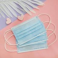 【現貨】【令和兒童】單綱印防護口罩 馬卡龍MIT鋼印口罩 - 海洋藍 一盒50入