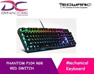 TECWARE PHANTOM P104 RGB RED SWITCH KEYBOARD