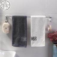太空鋁單桿毛巾架-銀色(無痕貼 浴室毛巾架 浴巾 抹布架)