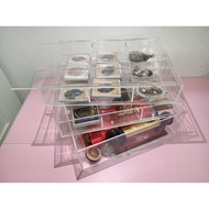 Thai Amulet - Acrylic Collection Box (With Cover) For Thai Buddha Amulets Pendant - Only The Acrylic Collection Box